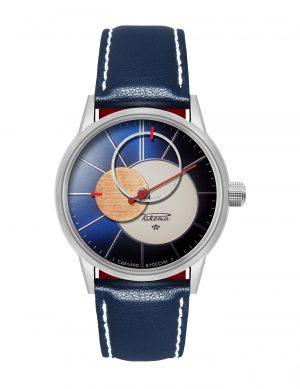 Купить часы Ракета Коперник на синем ремне